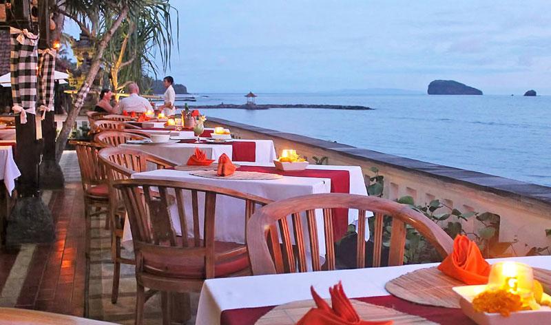 lezat beach restaurant wedding